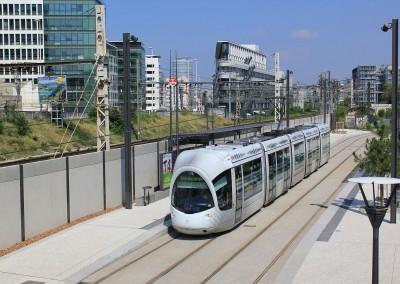 Tramway T4 de Lyon