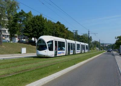 Prolongement du tramway T4 de Lyon
