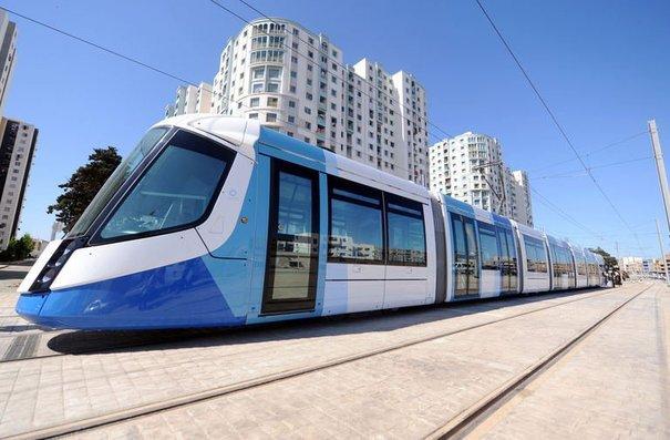 Le tramway d'Alger